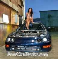 "Say ""hello"" to My Official BoostAndBoobs.com Racecar, Tsu (Short for Tsunami)!"